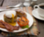 Home cooked breakfast included at the Swallows Rest bed and breakfast in Brigstock