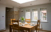 After a good nights sleep at the Swallows Rest bed and breakfast Brigstock enjoy your breakfast in the dining room