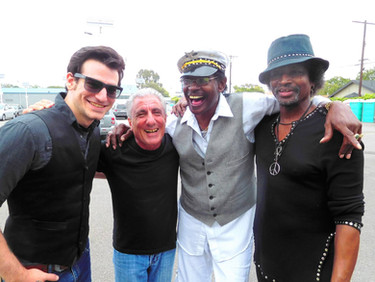 left to right: me, Malcolm Lukens, Willie Chambers, and Robin Russell