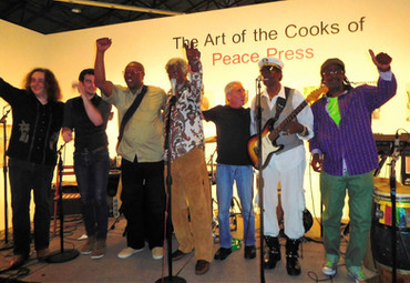 left to right: Crazy Tomes, me, Jerry Warner, Joe Chambers, Malcolm Lukens, Willie Chambers, and David Horne