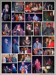 Blues lineup for homeless benefit at Godmother's in San Pedro, CA