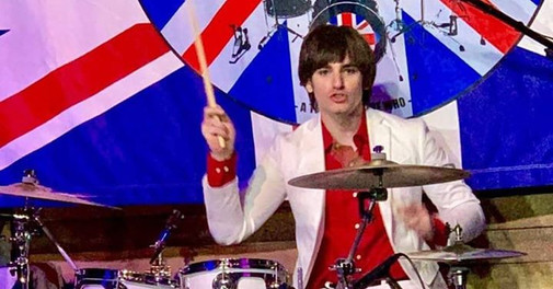 Me as Keith Moon