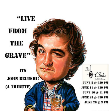 Live from the Grave: It's John Belushi!