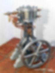 boat steam engine model