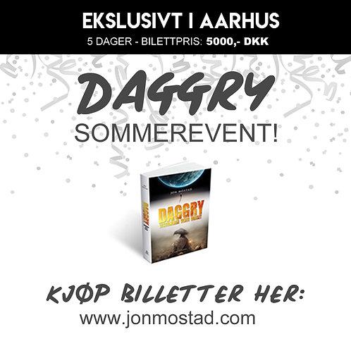 Ekslusivt i Aarhus: Daggry Sommerevent