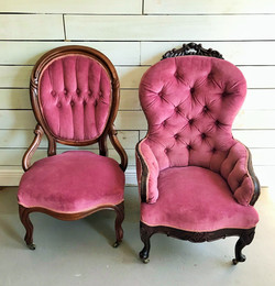 Victoria and Elizabeth chairs
