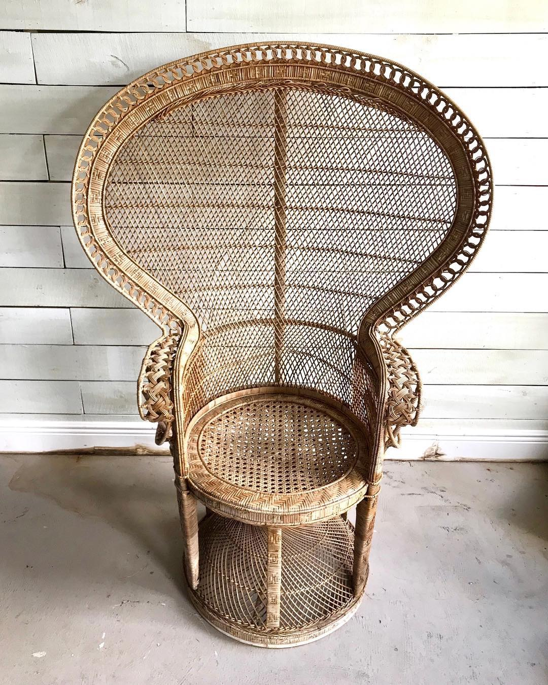 Willow Peacock Chair
