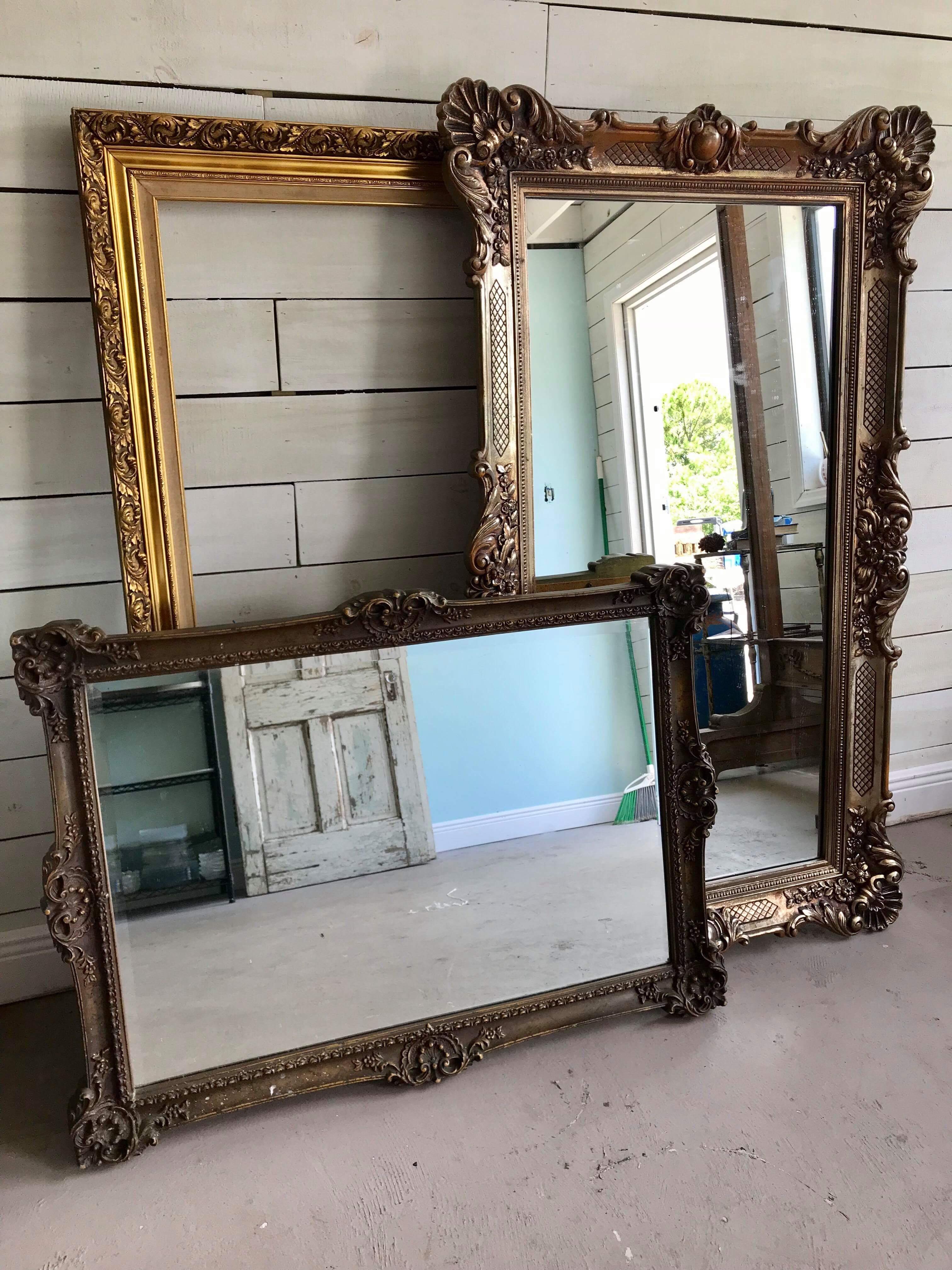 Large Gold Frames