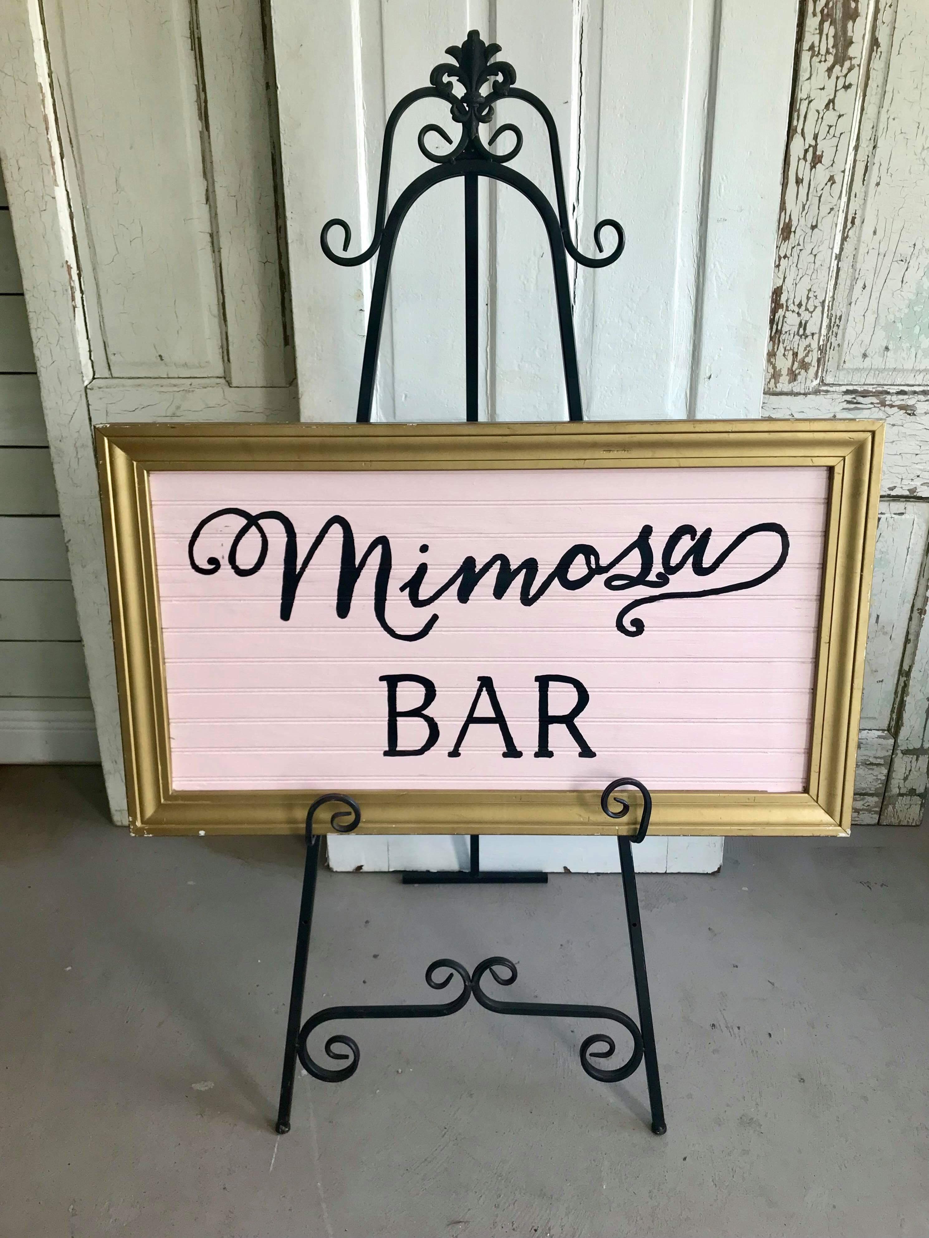 Pink Mimosa Bar
