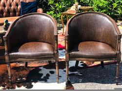 Jameson & Johnnie barrel chairs