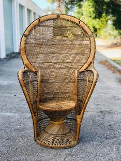 Cleo Peacock Chair