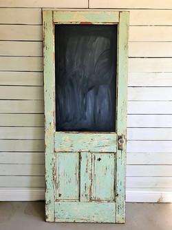Chalkboard Vintage Door