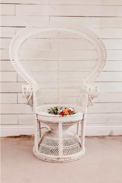 Delilah Peacock Chair
