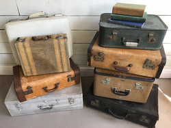Small vintage trunks