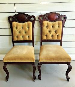 Iris and Isla chairs