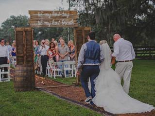 Heather & Owen Country Wedding