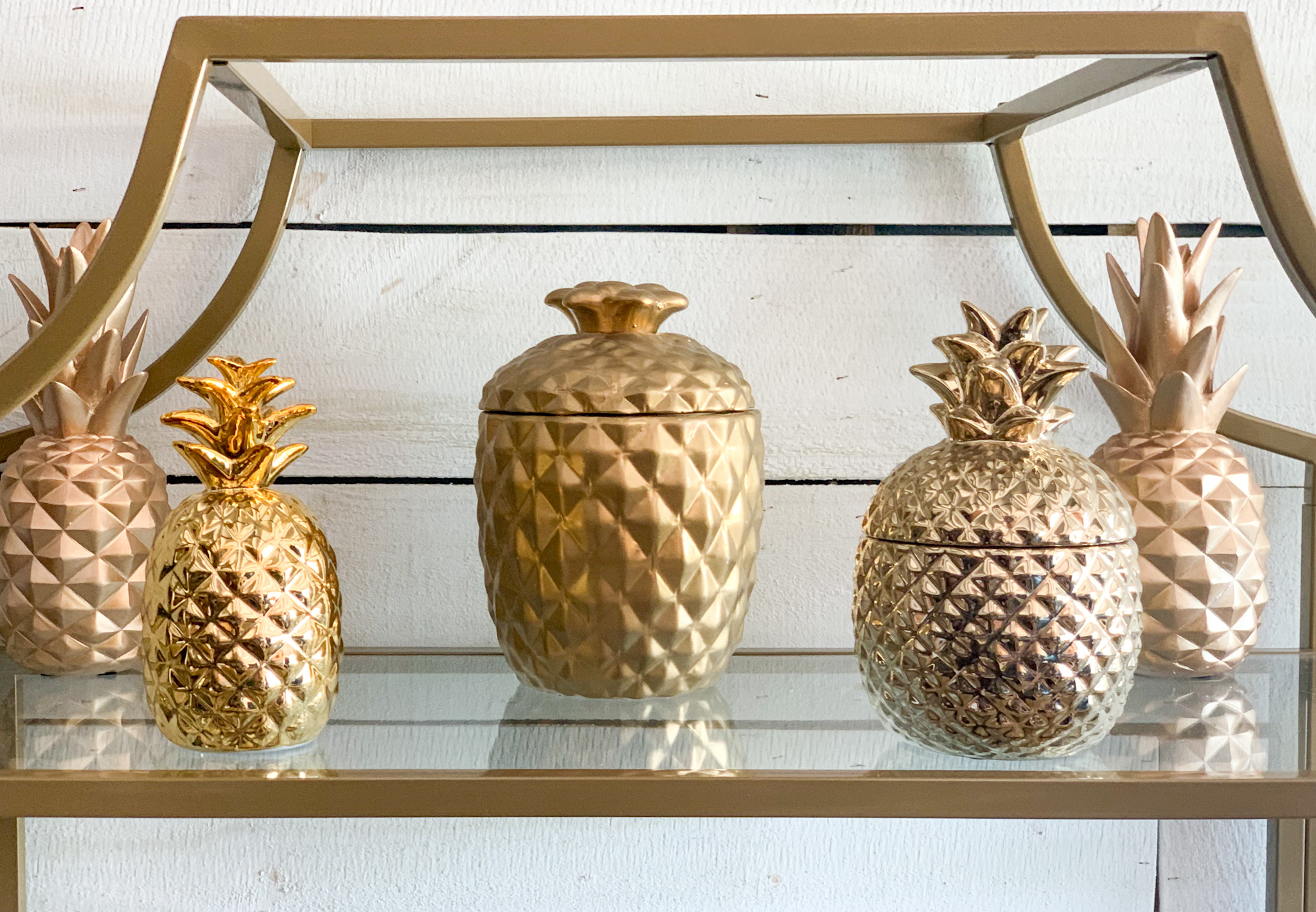 Assortment of Pineapples