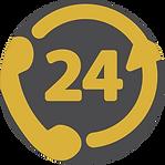 Ícone Assistência 24 hora nacional