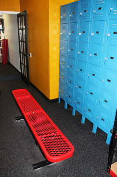SCBA Locker Area