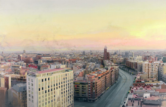Madrid from Torres Blancas, 1974-82