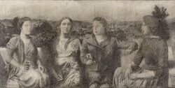 Cuatro mujeres, 1957