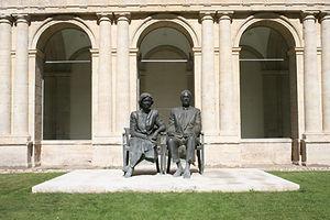 Retrato de sus Majestades los Reyes de España D. Juan Carlos y Dña. Sofía de Antonio López y Julio y Francisco López Hernández