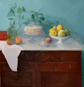 María Moreno, Still Life of Quinces, c. 2005