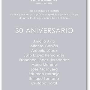 30 Aniversario Galería Ansorena, obras de A. López y M. Moreno en la exposición