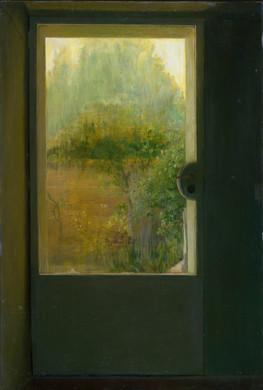 María Moreno, Jardín de atrás con sol, 1972
