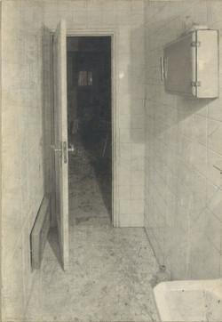 Interior del baño, 1969