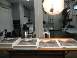The digital prints of Gran Vía ready