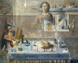 En la cocina, 1958