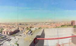 Madrid desde la torre de bomberos de