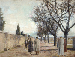 Paseo del cementerio, 1959