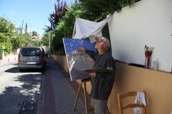 Pintando en verano de 2020