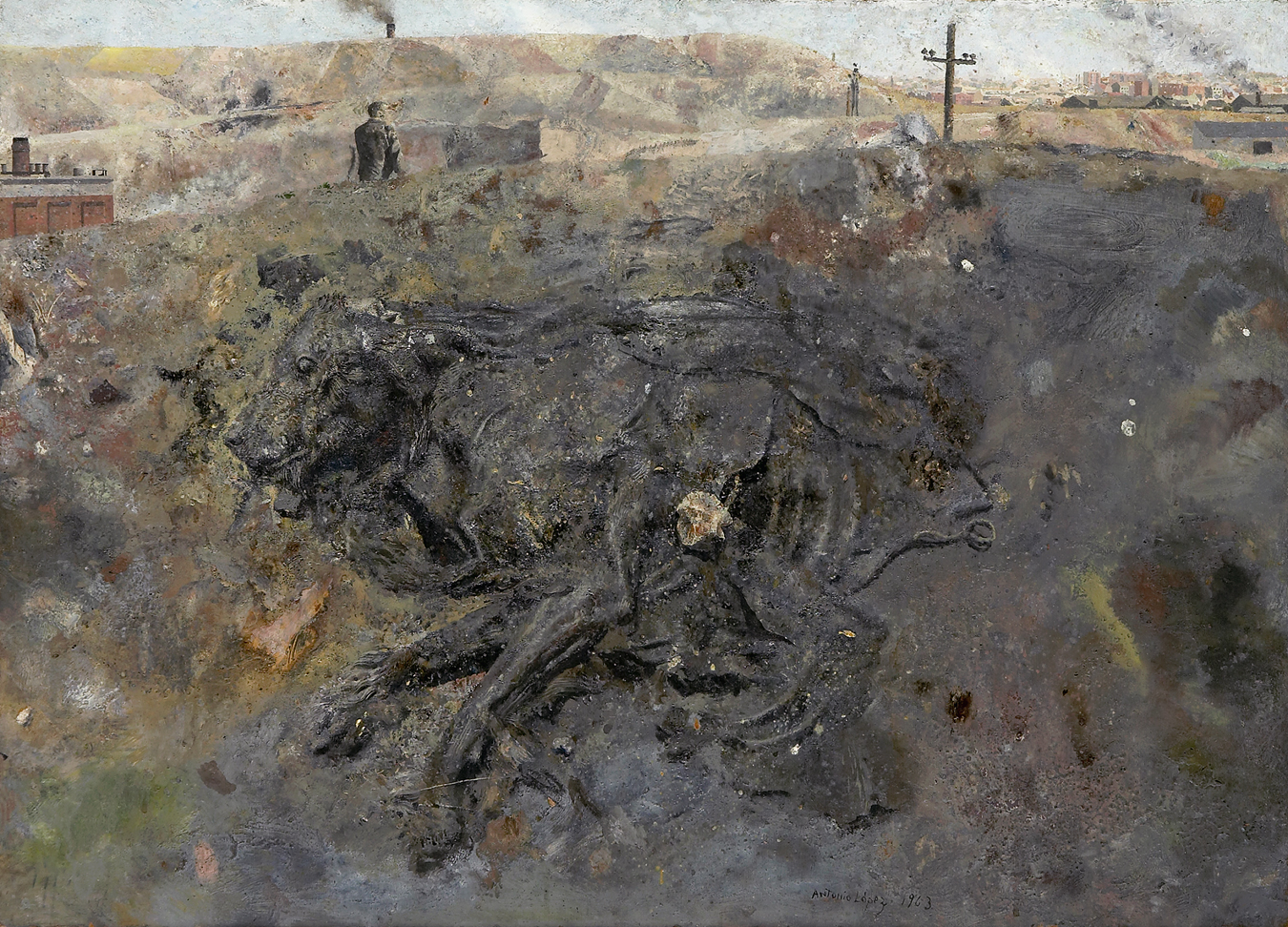Perro muerto, 1963