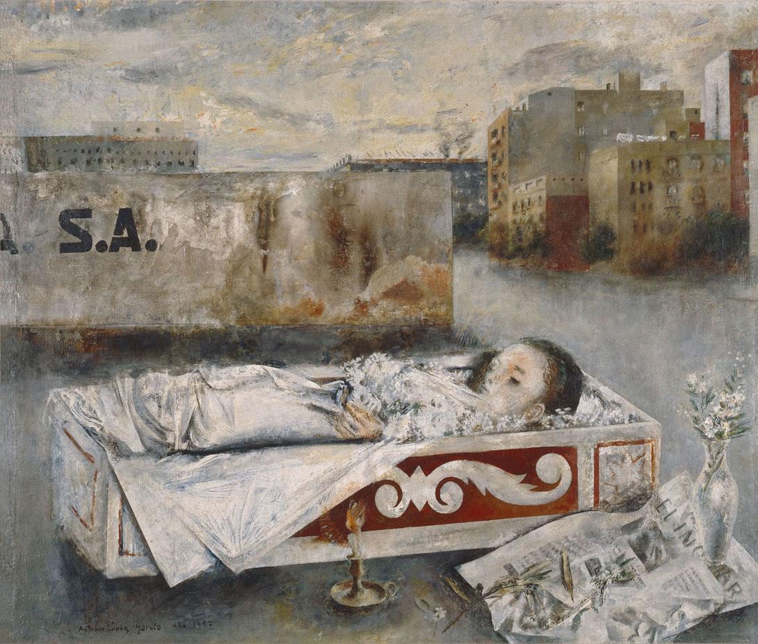 Niña muerta 1957