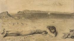 Mujer en la playa, 1959