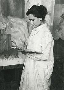 María_Moreno_en_la_Escuela_de__BBAA_San_