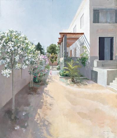 María Moreno, Jardín de la calle Poniente, 2000