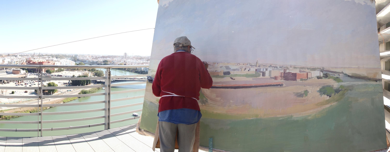 Pintando Sevilla