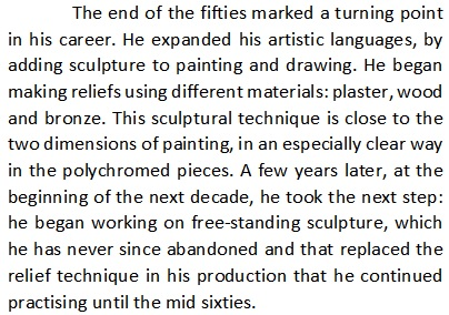 50s, sculpture.