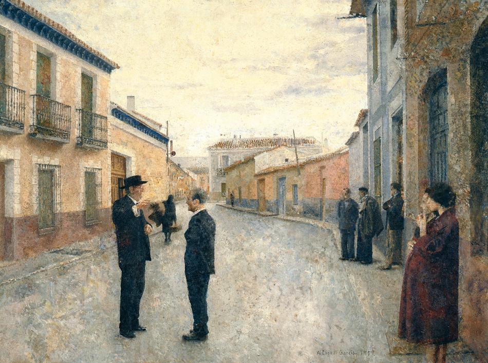 Francisco Carretero y Antonio López