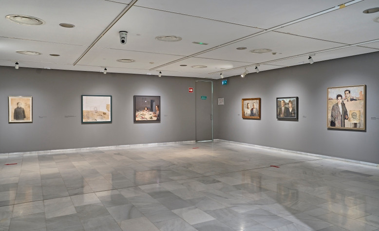 EXPOSICIÓN DE ANTONIO LÓPEZ EN F. BANCAJA, VALENCIA-26-UMFotografía