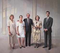 Familia de Juan Carlos I, 1994-2014