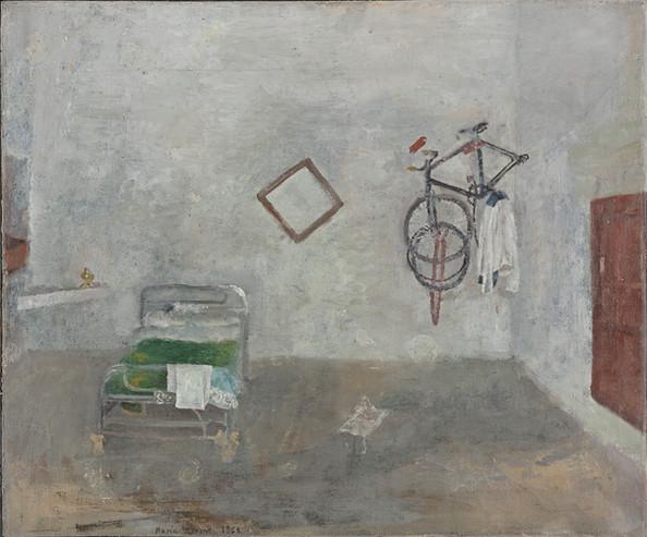 Maria Moreno, Cámara con bicicleta, 1963