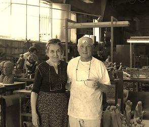 María Moreno y Antonio López en la fundi