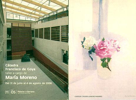 Catedra Francisco de Goya - Taller Maria