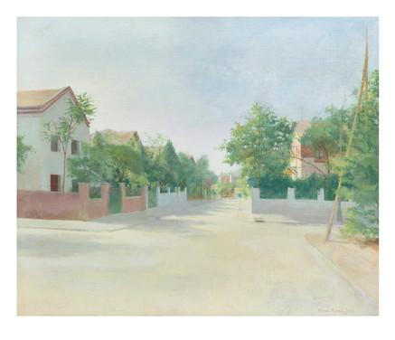 Calle Levante, 2020, digigrafía, 53 x 61 cm