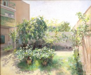 María Moreno, Jardín de Madrid, 1982-86